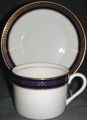 Coalport Blue Wheat Cup & Saucer Set