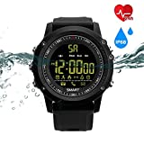 Fitness Tracker Bluetooth Activity Tracker Water Resistant Smart Watch,New IP68 Waterproof Outdoor Sports Smart Watch, Long Time Standby Sport Bracelet,Compatible with Android and iOS Phones