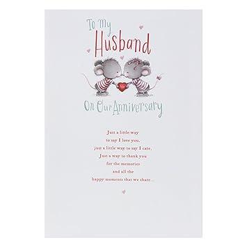 hallmark anniversary cards for husband