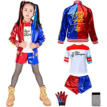 Amazon.com: DC Super villano Collection Harley Quinn disfraz ...