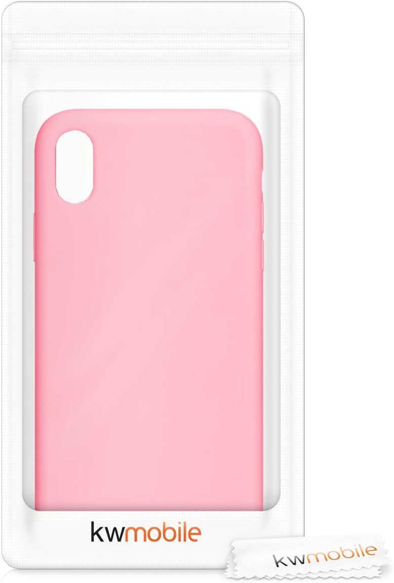 Coque kwmobile Coque Compatible avec Apple iPhone XR Housse de t/él/éphone Bleu oc/éan