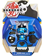 Bakugan 2021 Aquos Cosplay Pirate Cubbo 2-inch Core Collectible Figure and Trading Cards