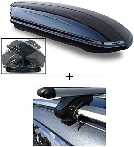 Vdp Dachbox Vdpmaa580duo Alu Relingträger Kompatibel Mit Mercedes C Klasse S205 Kombi Ab 14 Auto