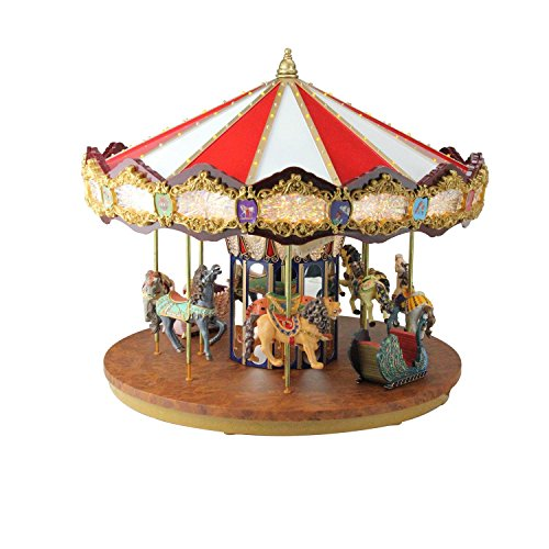 Animated Carousel - Mr. Christmas Animated Musical Grand Jubilee Carousel Decoration #19751