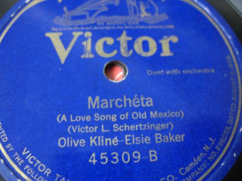 (Indiana Lullaby / Marcheta (A Love Song of Old Mexico))