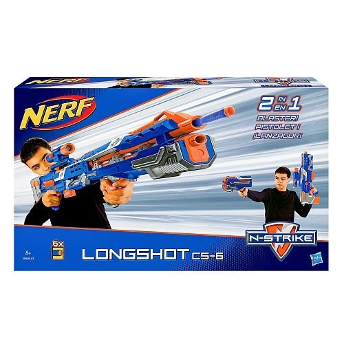 Nerf N-Strike Elite Longshot CS-6 (Blue Version)
