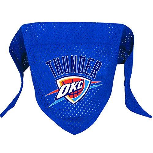 Hunter MFG Oklahoma City Thunder Mesh Dog Bandana, Small