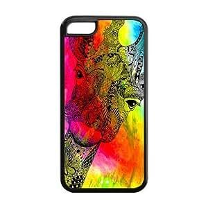 MEIMEIiphone 6 plus 5.5 inch Phone Cases, Giraffe Hard TPU Rubber Cover Case for iphone 6 plus 5.5 inchMEIMEI