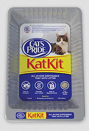 Disposable Cat (Cat's Pride, Disposable Litter Pan, Includes Pan & Litter All In One (1 Pack))