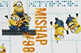 Minions Made Mishap 100% Polyester (FLAT SHEET ONLY) Size TODDLER Boys Girls Kids Bedding