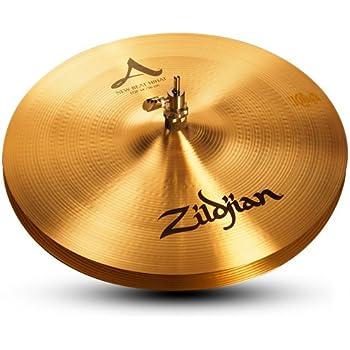 zildjian a series 14 new beat hi hat cymbals pair