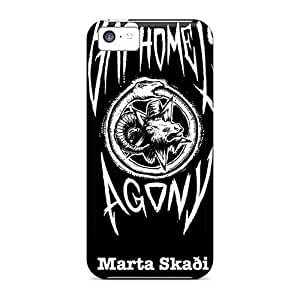 Excellent Hard Phone Case For Iphone 5c With Unique Design Nice Moonsorrow Band Skin EricHowe