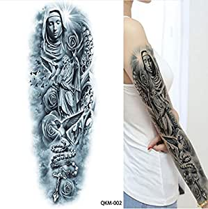 MRKAL 1 Hoja Grande Grande Zeus Mitología Griega Antigua Tatuajes ...