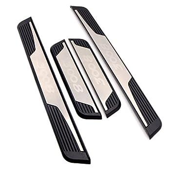HIGH FLYING para 3008 GT 2017 2018 2019 Decoración para estribos 4 Piezas Acero Inoxidable &