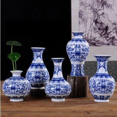 White Chinese Vases - 5