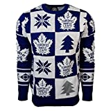 FOCO NHL mens 2016 Patches Ugly Crew Neck Sweater