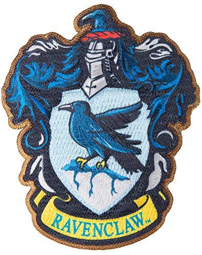 Simplicity 1932162001 Harry Potter Ravenclaw House Emblem Applique Clothing Iron On Patch, 3.5'' x 4.25