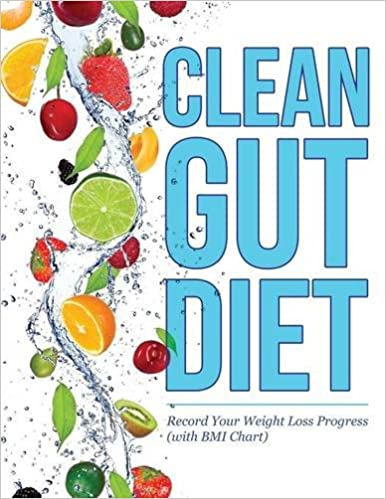 Buy Clean Gut Diet Record Your Weight Loss Progress With Bmi Chart