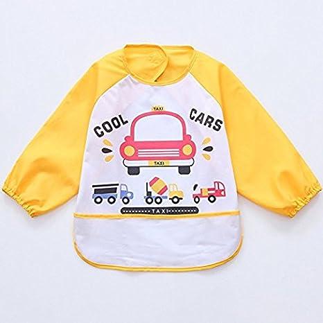 oral-q alimentación bata bata con mangas para bebé vestido de manga larga dibujos animados para ...