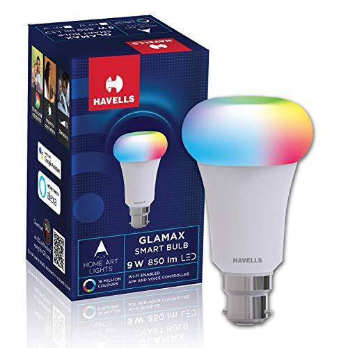 HavellsGlamax Smart Bulb9W TW+Colors B22 Lamp