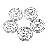 5X LAOMAO Stainless Blender Mixing Ball Protein Mixer Shaker Bottle Cup Wire Whisk