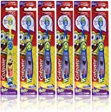 Colgate Kids Spongebob Squarepants Toothbrush, with Suction Cup, Extra Soft