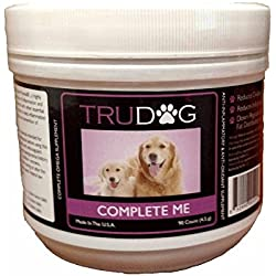 The First Omega-7 Supplement for Dogs - Complete Me: Omega Multi-Vitamin Soft Chew (90 Count) - Complete All-In-One Fish Oil Chews to Support Immune System, Joint and Muscle Recovery, and Cardiovascular Health