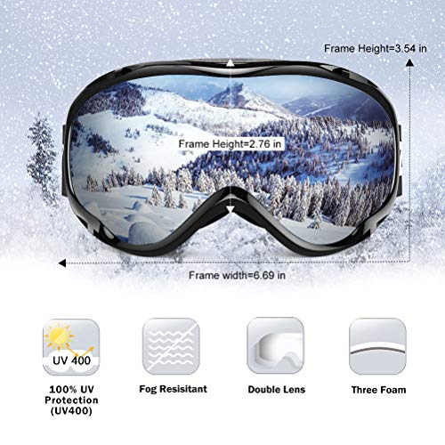 Buy mens snowboard goggles