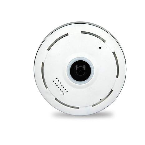 ZYLFN Cámara de Fisheye de Seguridad para el hogar, Sistema con Monitor de detección de