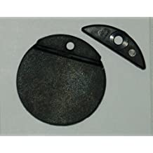 """1-7/16"""" Replacement flapper for stainless steel and plastic thru hull scuppers"""