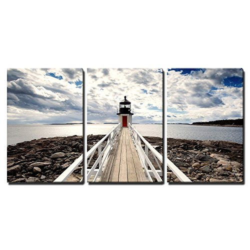 wall26 - Lighthouse in Perspective - Canvas Art