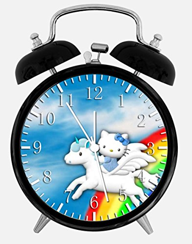 Hello Kitty Alarm Desk Clock Home Office Decor W284 Nice For Gifts