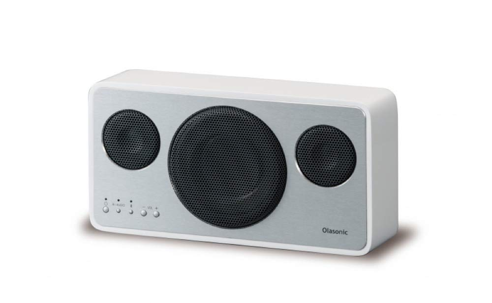 Olasonic(オラソニック) ハイレゾ対応高音質 Bluetoothスピーカー シルクホワイト IA-BT7-W B07F3VD15Y