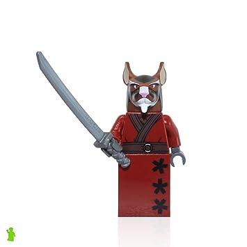 LEGO TMNT - SPLINTER Minifigure - Teenage Mutant Ninja ...