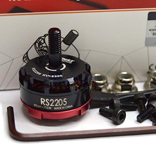 Eztronics Corp Emax RS2205 2300KV CCW Brushless Motor for FPV Quad QAV Drone Race CW Thread