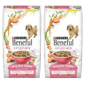 Purina Beneful Originals with Real Salmon Adult Dry Dog Food - 31.1 lb. - 2 Bag