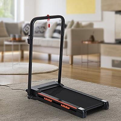 Homcom- Cinta para correr eléctrica, plegable para ahorrar espacio ...