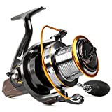 Burning Shark Spinning Fishing Reel for Bass Trout,Saltwater Fishing Reel Smooth Powerful Review