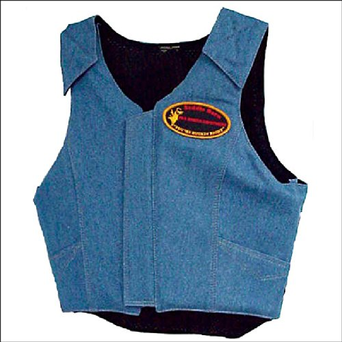 (SADDLE BARN Extra Large PRO Rodeo Bull Riding Protective Vest -Adult)