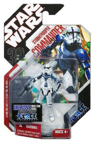 Star Wars Force Unleashed Stormtrooper Commander Exclusive Figure