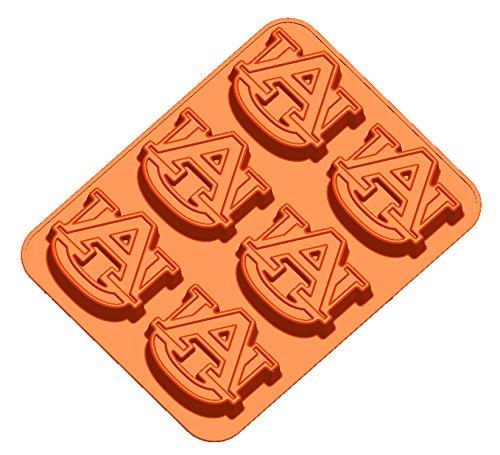 NCAA Auburn Tigers Muffin/Cupcake Pan, One Size, Orange ()
