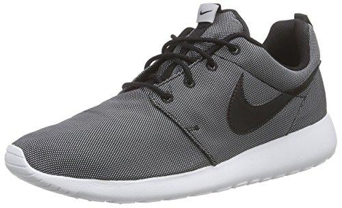 One Roshe Sneakers Schwarz 010 Herren Black Grey Premium NIKE White wolf 74qwxaREw