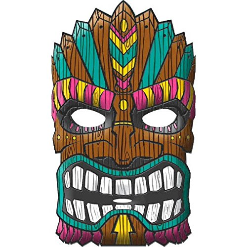 Amscan Tiki Party Mask, 11