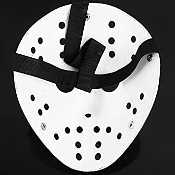 Amazon.com: edealing(TM) 1PCS Gold Vintage Jason Voorhees Freddy Hockey Halloween Masquerade Mask: Toys & Games