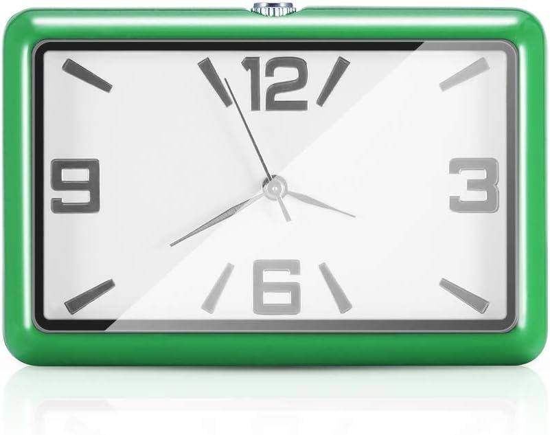 horloge /à quartz dautomobile Topwor Horloge de tableau de bord de voiture