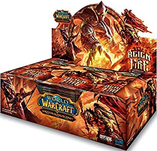 5 Booster Pack Lot Reign Of Fire World Of Warcraft