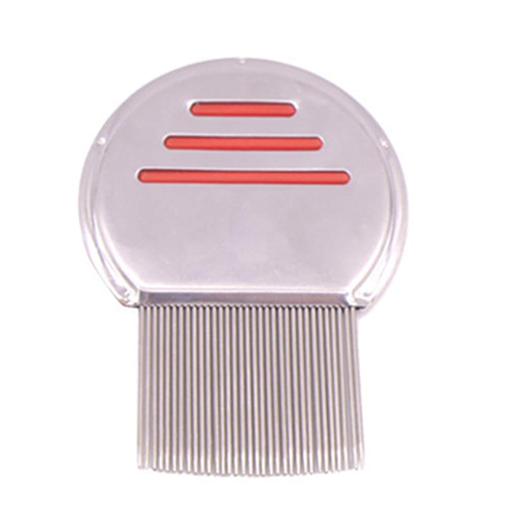 Pet Comb with Flea Cleaning Comb Stainless Steel Needle Comb to Remove Flea Beauty Products