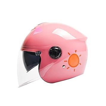Casco de niños Casco de moto eléctrica Casco de niño de niña Cuatro estaciones Casco de