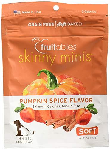 Fruitables Pumpkin Spice Dog Training Treats