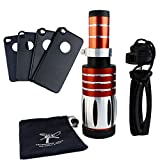 Apexel 50X Ultra Beast Magnifier Zoom Manual Focus Telephoto Telescope Phone Camera Lens Kit with High-end Tripod for iPhone 4/4S 5/5S 6/6 Plus